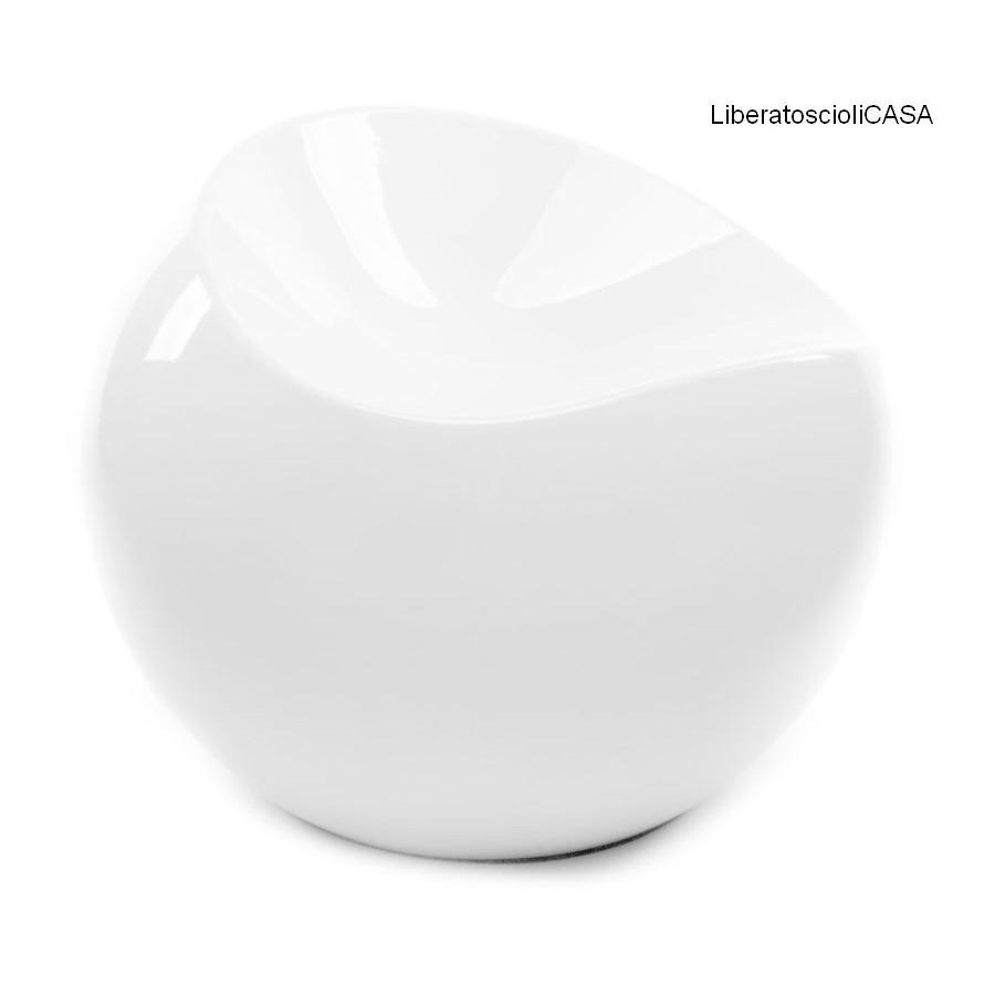 XLBOOM - BALL CHAIR NERO OPACO