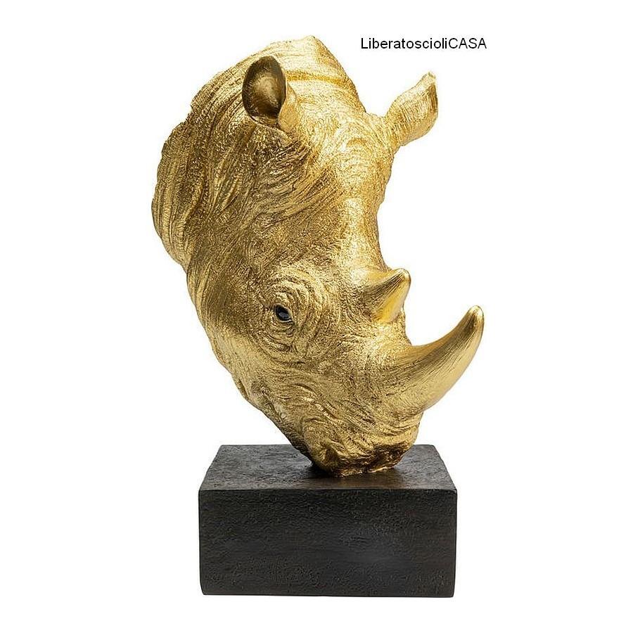 KARE - Oggetto decorativo Rhino oro