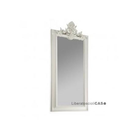 MARIONI - Specchiera Buthan foglia argento