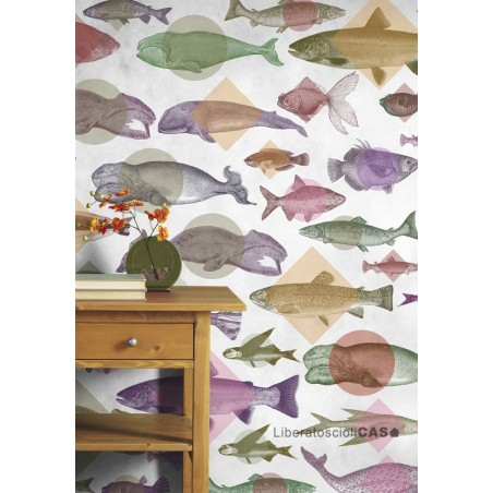 CARTA DA PARATI NATURALIS Aquarium WALLPEPPER
